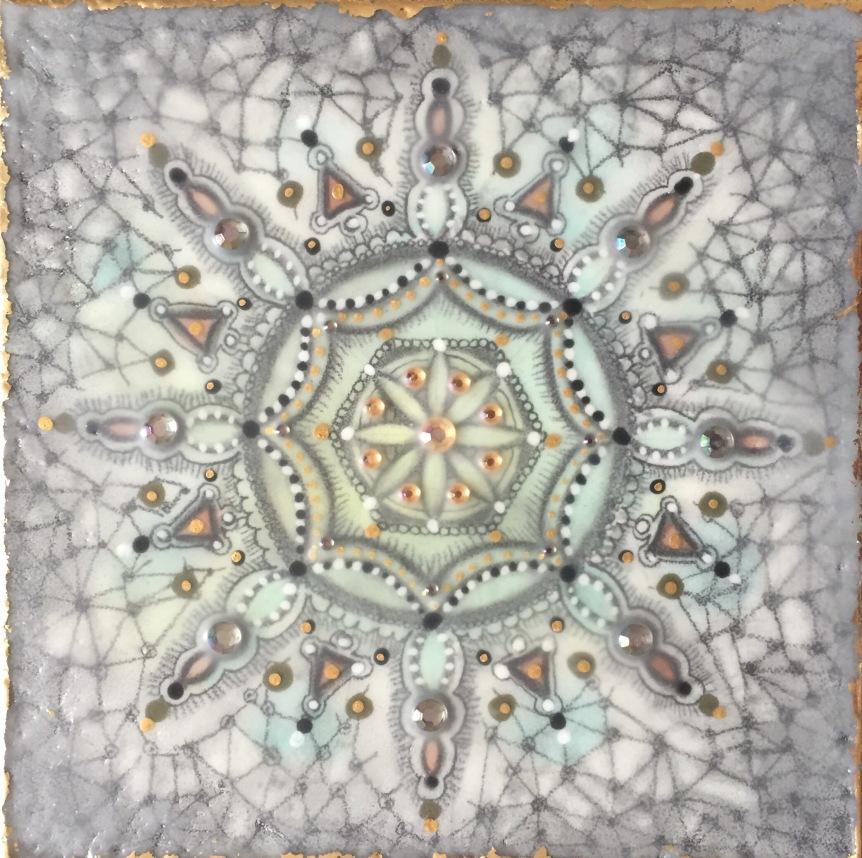 mandala- art-encaustic-siobhan bedford