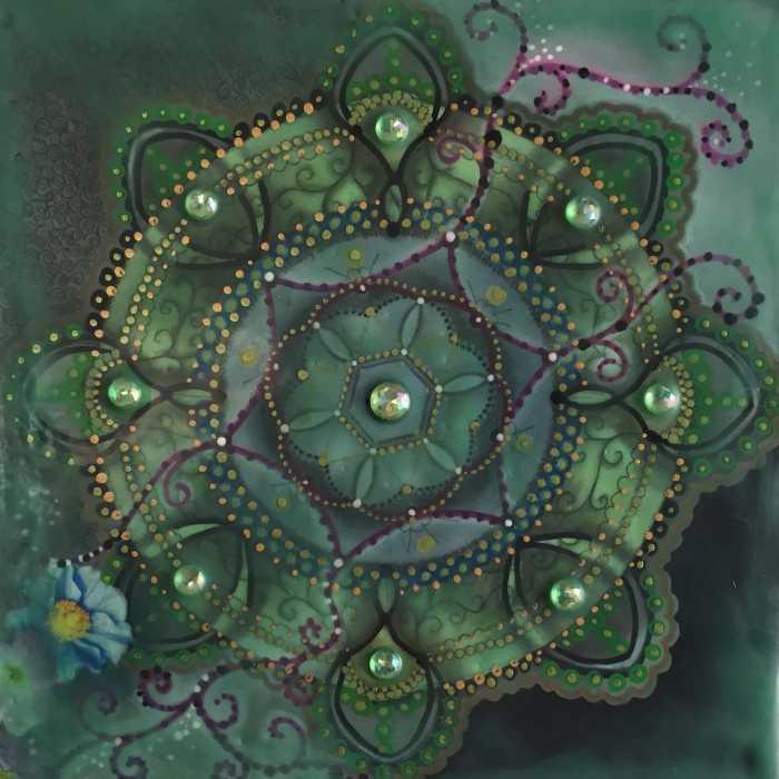 Mandala by Siobhan Bedford